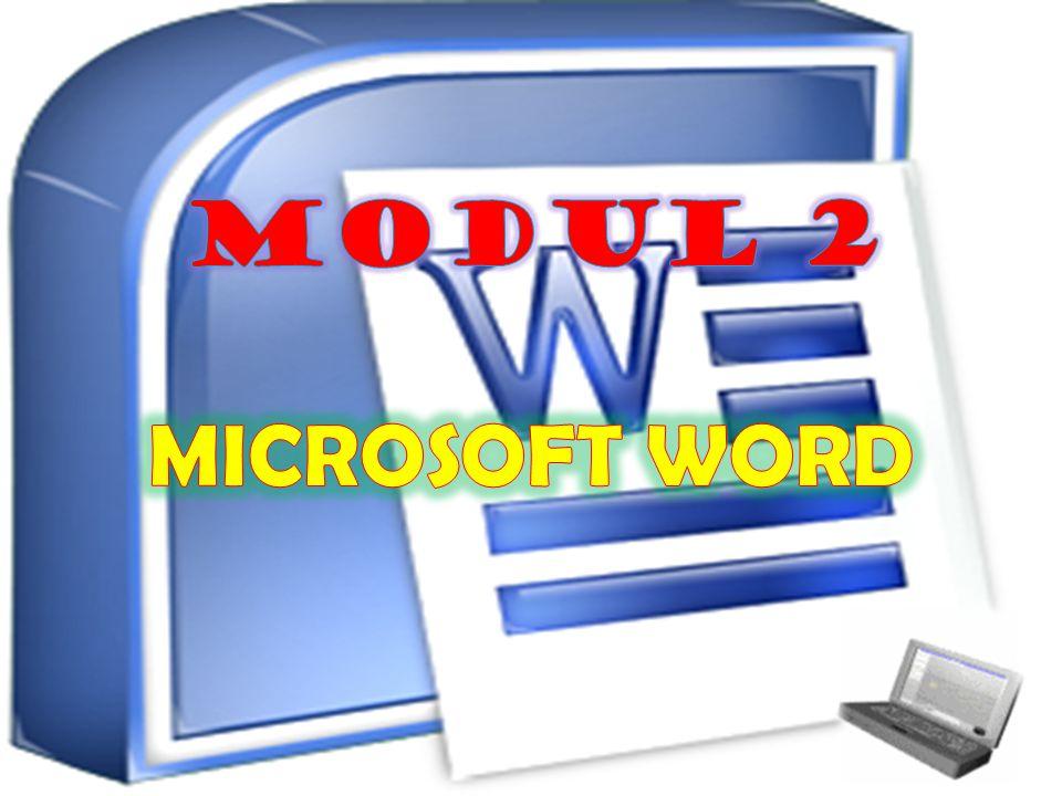 MODUL 2 MICROSOFT WORD