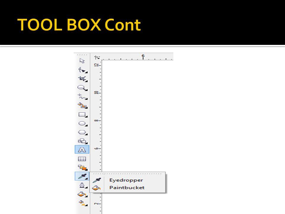 TOOL BOX Cont