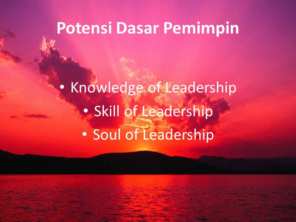 Potensi Dasar Pemimpin