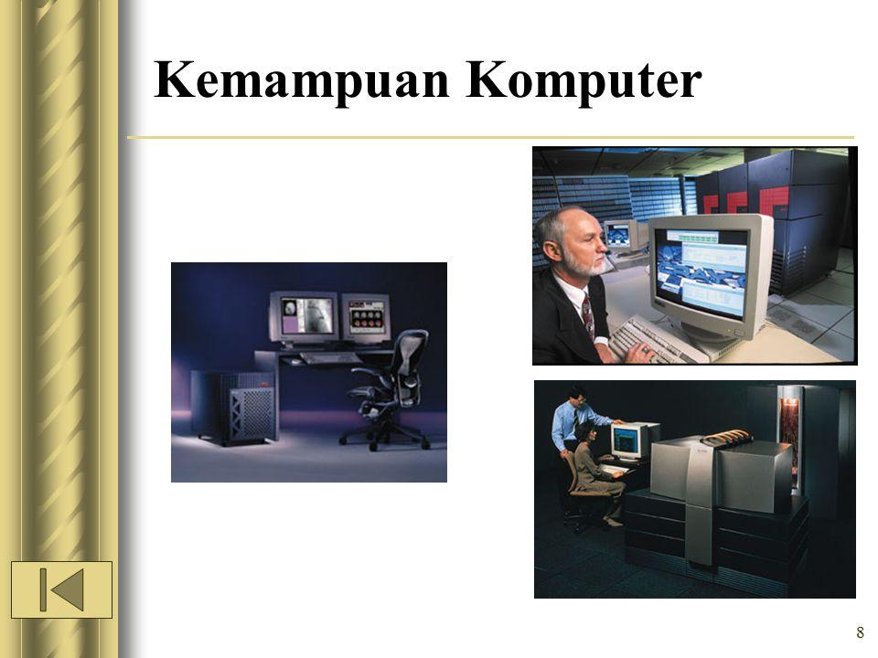 * 07/16/96 Kemampuan Komputer *