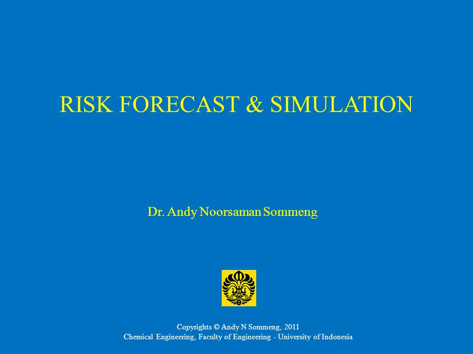 RISK FORECAST & SIMULATION