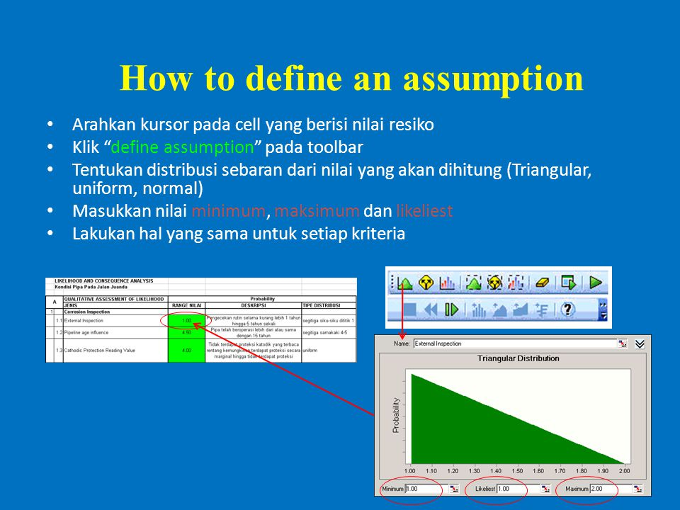 How to define an assumption