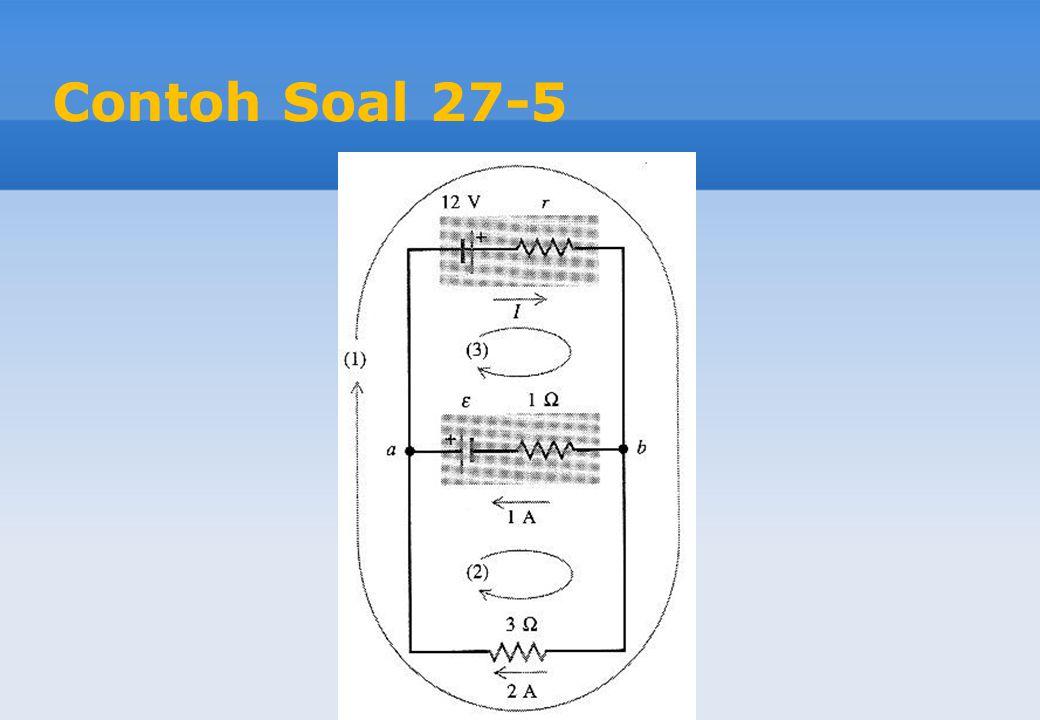 Contoh Soal 27-5