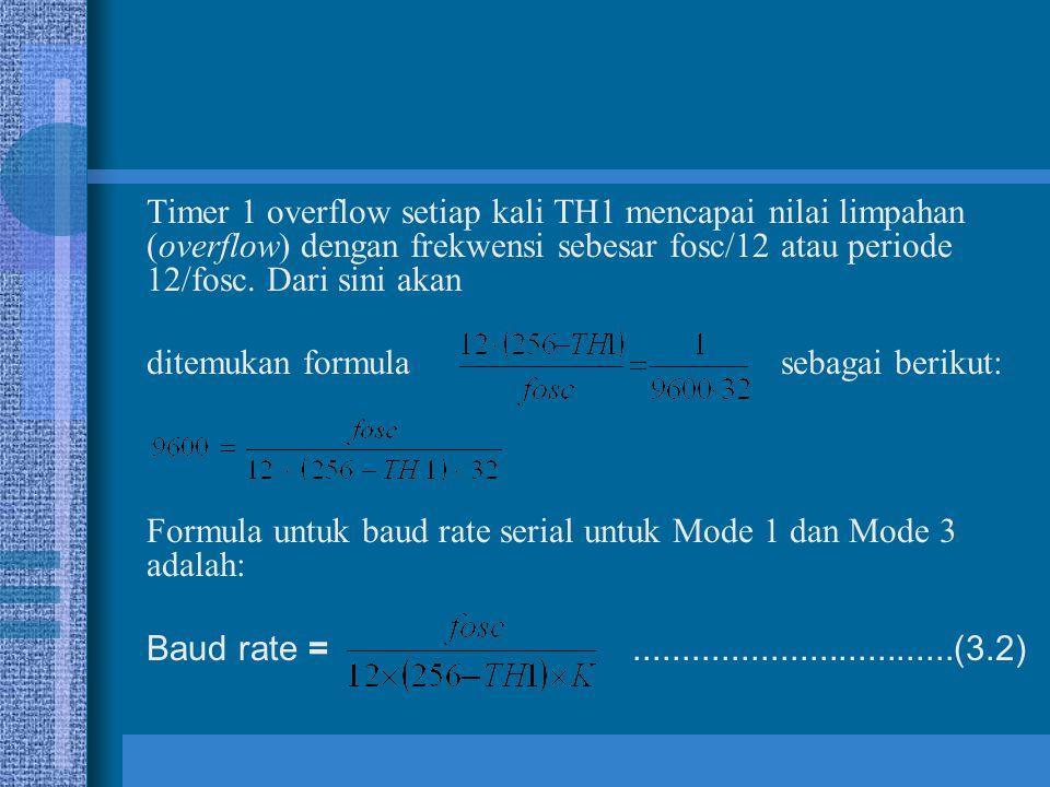 ditemukan formula sebagai berikut:
