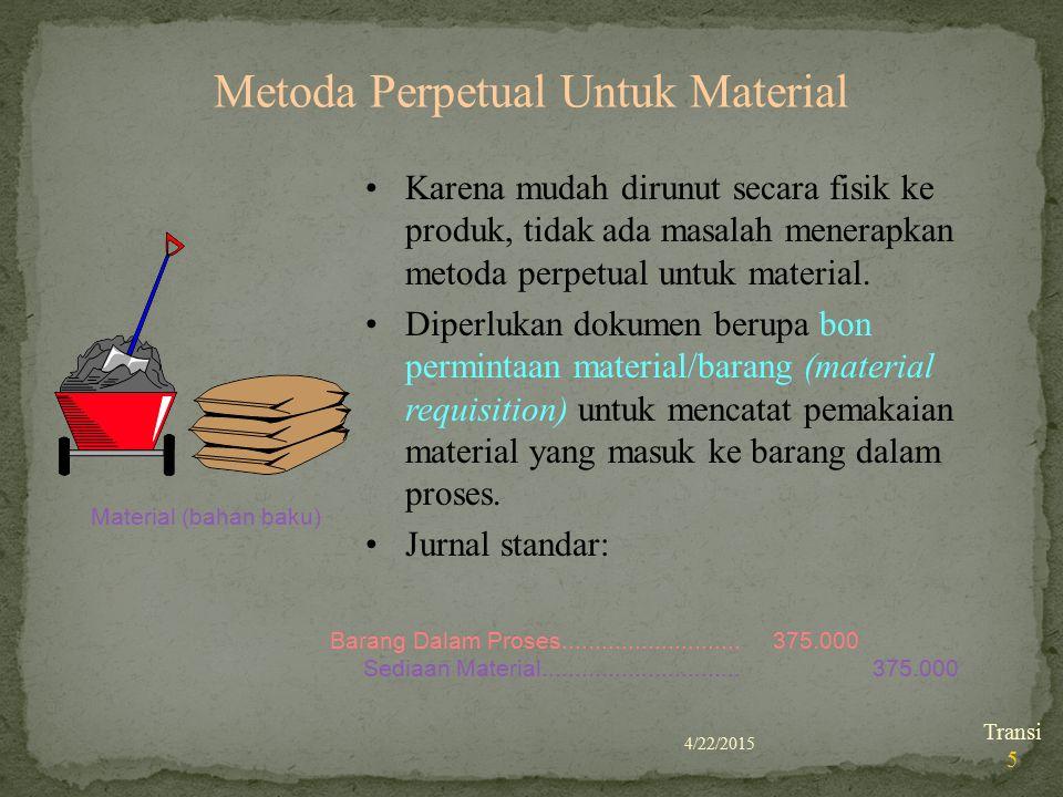 Metoda Perpetual Untuk Material