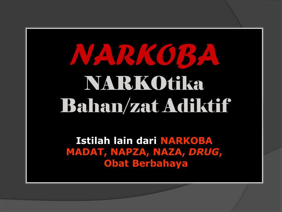 Istilah lain dari NARKOBA
