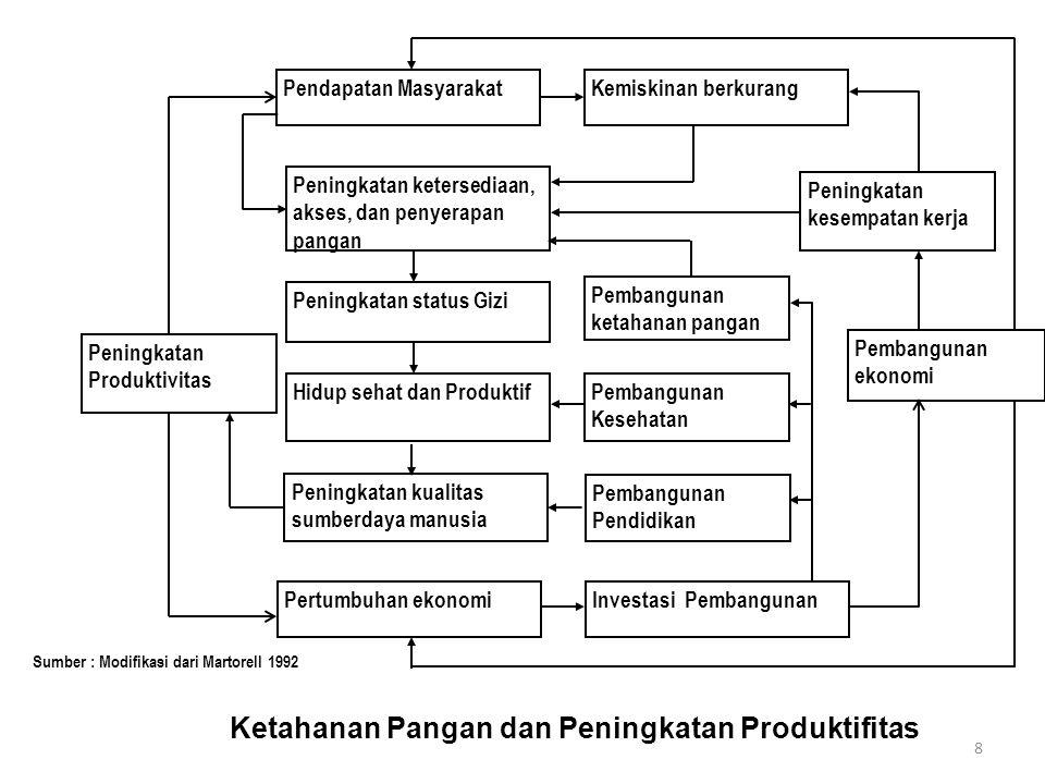Ketahanan Pangan dan Peningkatan Produktifitas