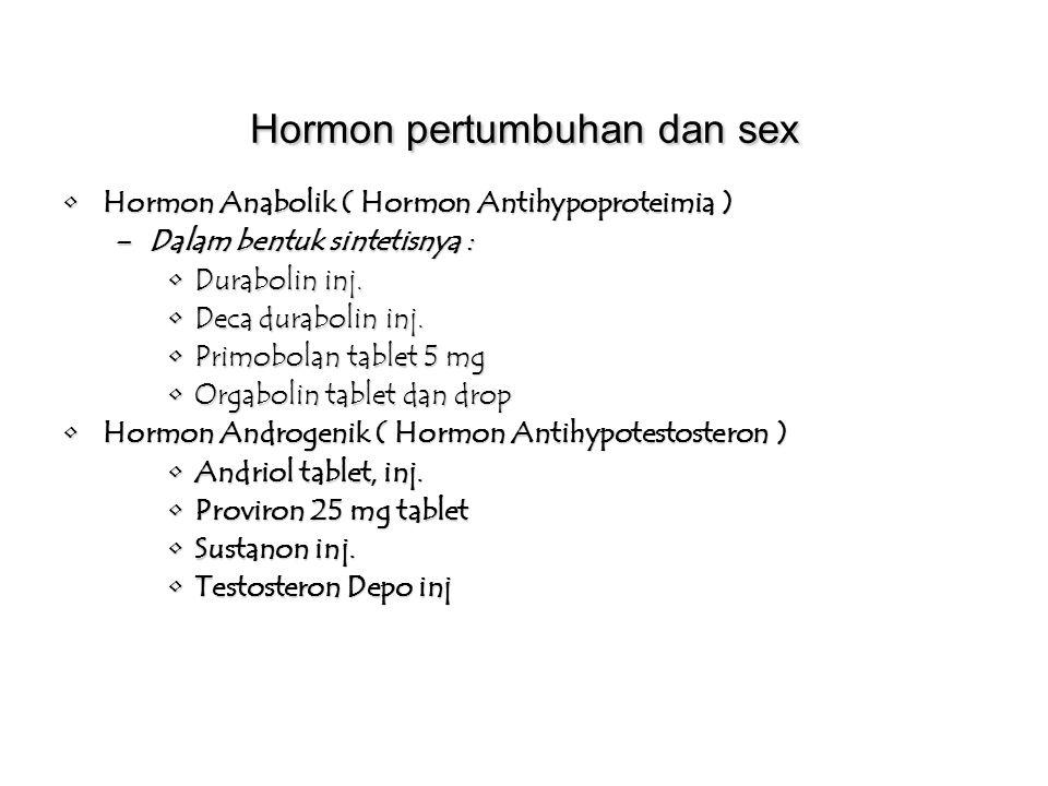 Hormon pertumbuhan dan sex