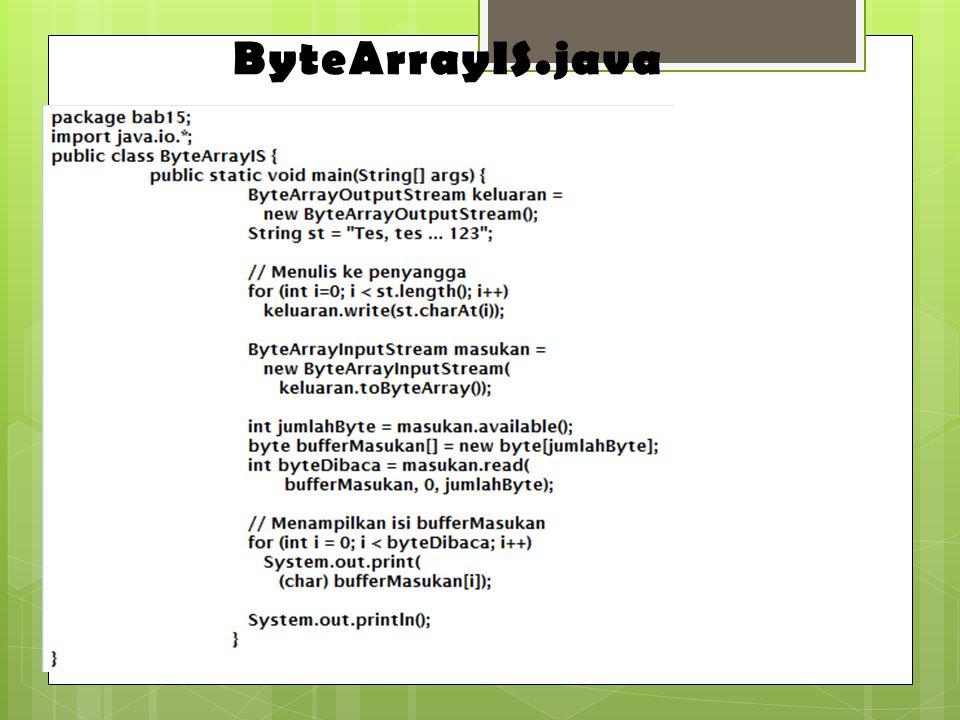 ByteArrayIS.java