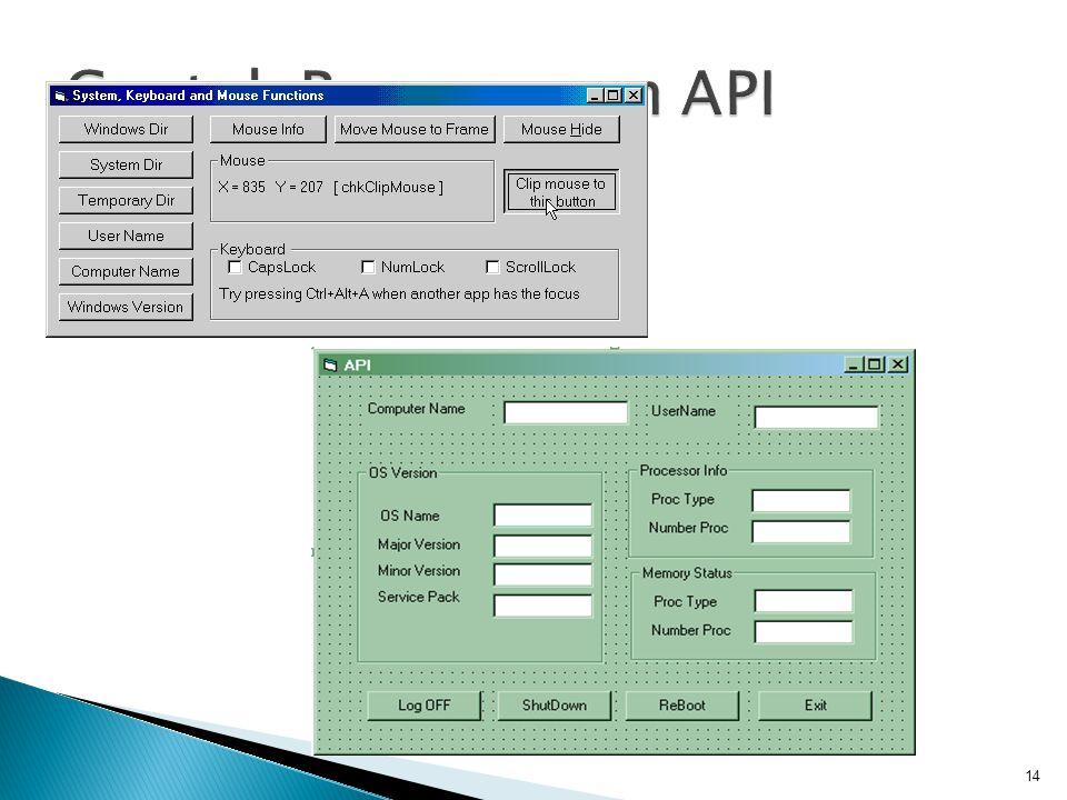 Contoh Penggunaan API