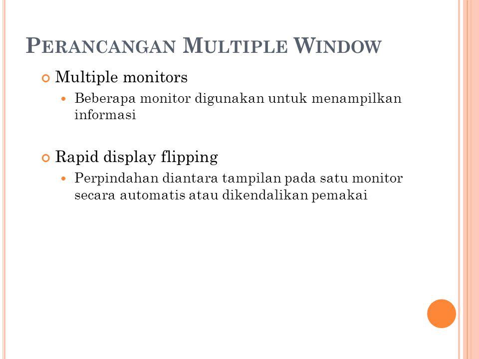 Perancangan Multiple Window