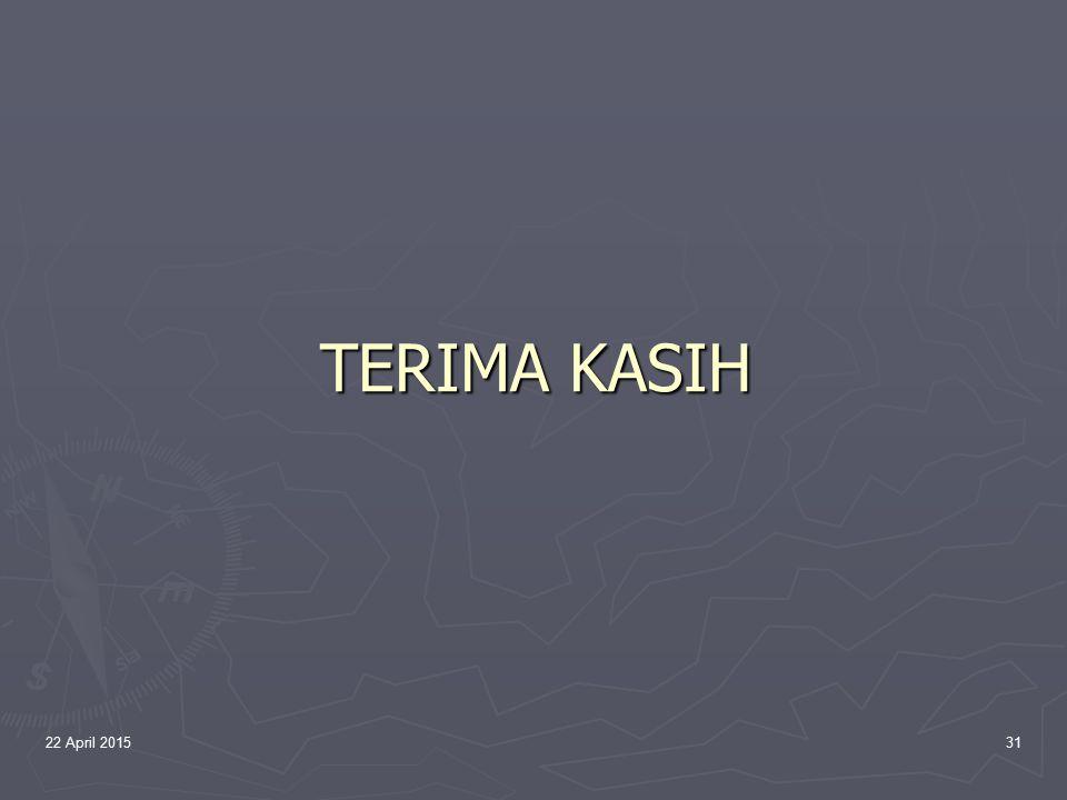 TERIMA KASIH 14 April 2017