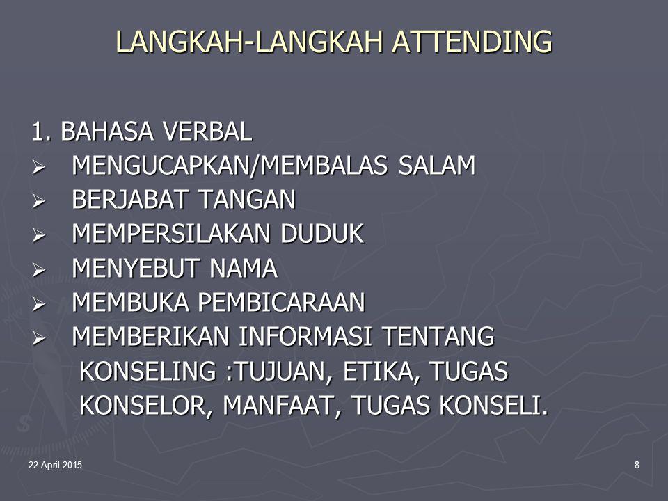 LANGKAH-LANGKAH ATTENDING
