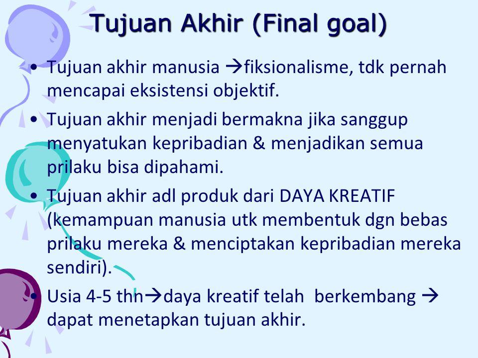 Tujuan Akhir (Final goal)