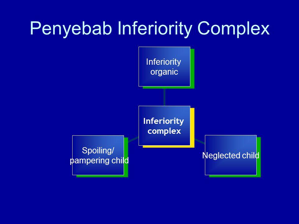 Penyebab Inferiority Complex