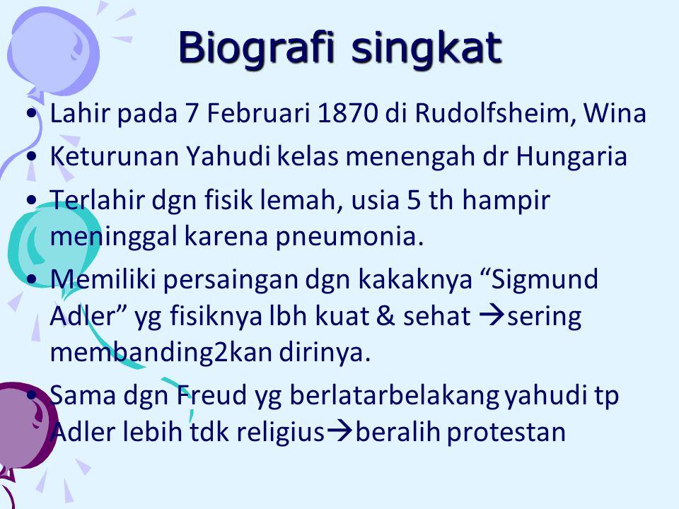 Biografi singkat Lahir pada 7 Februari 1870 di Rudolfsheim, Wina