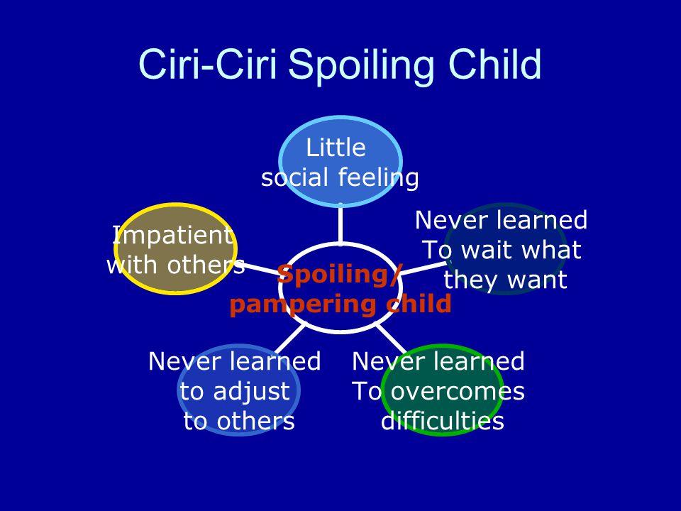 Ciri-Ciri Spoiling Child