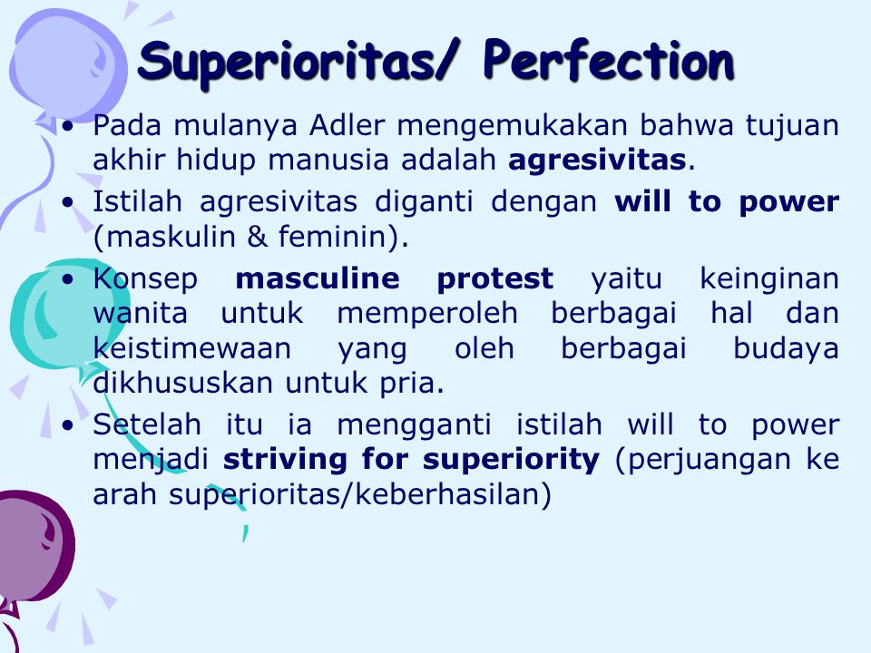 Superioritas/ Perfection