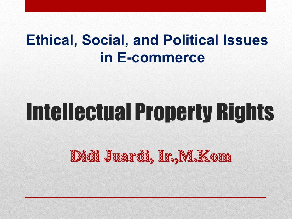 ethical issues in e commerce essay