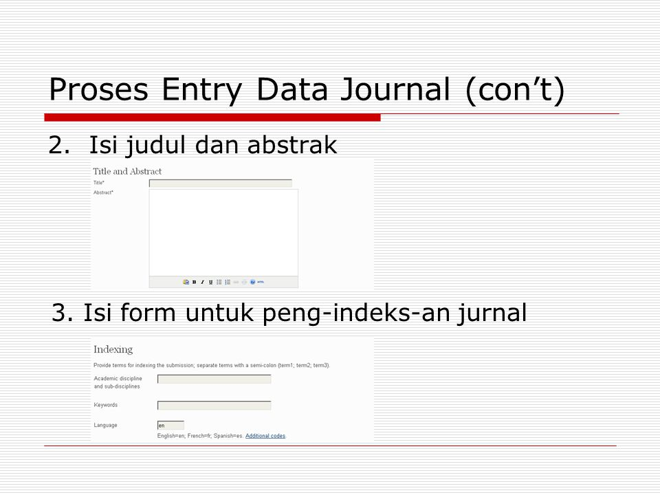 Proses Entry Data Journal (con't)