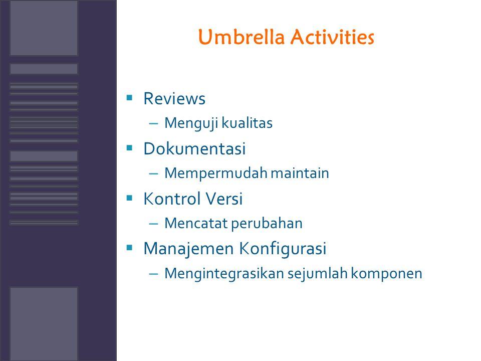 Umbrella Activities Reviews Dokumentasi Kontrol Versi
