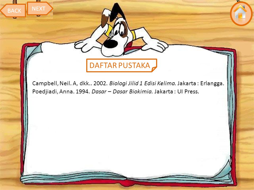 DAFTAR PUSTAKA NEXT BACK
