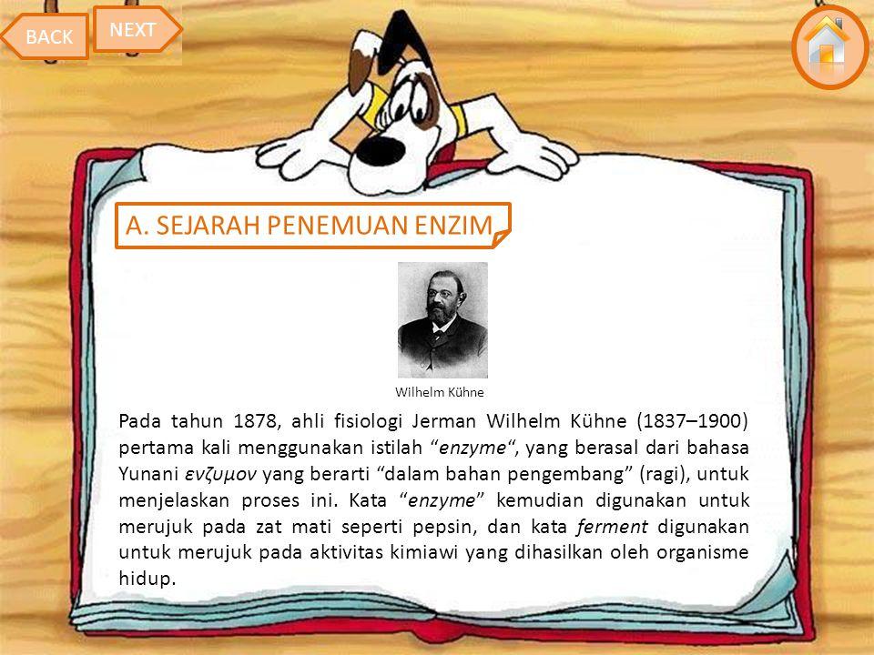 A. SEJARAH PENEMUAN ENZIM