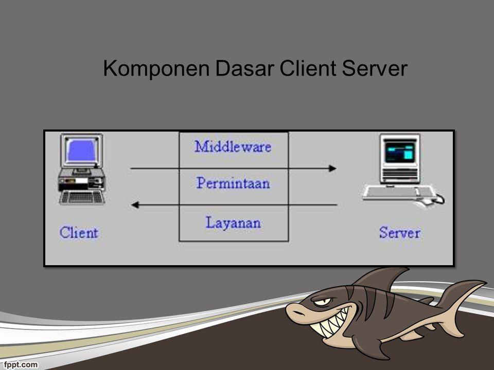 Komponen Dasar Client Server