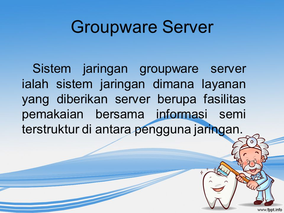 Groupware Server