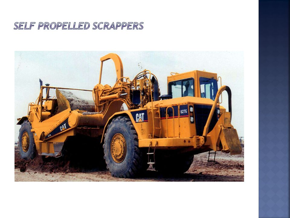 Self Propelled Scrappers