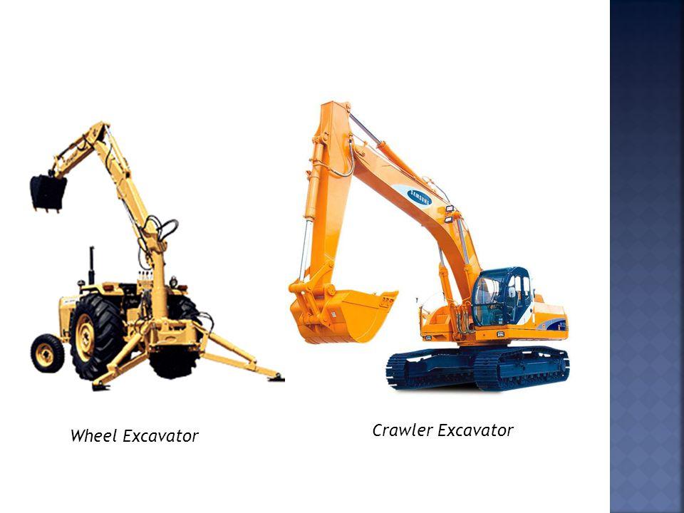Crawler Excavator Wheel Excavator