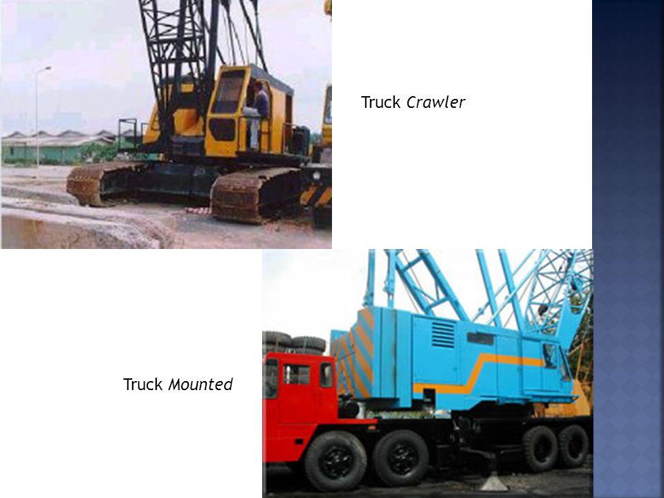 Truck Crawler Truck Mounted