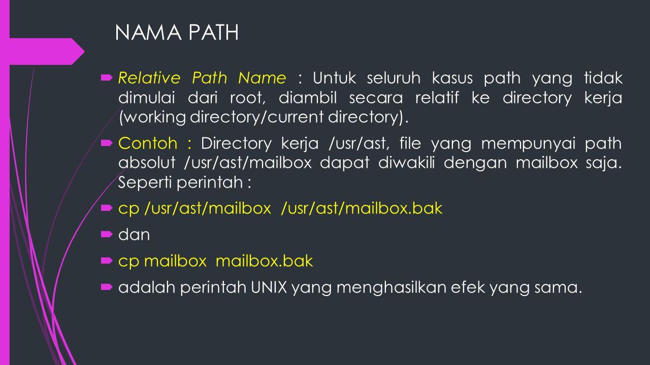 NAMA PATH
