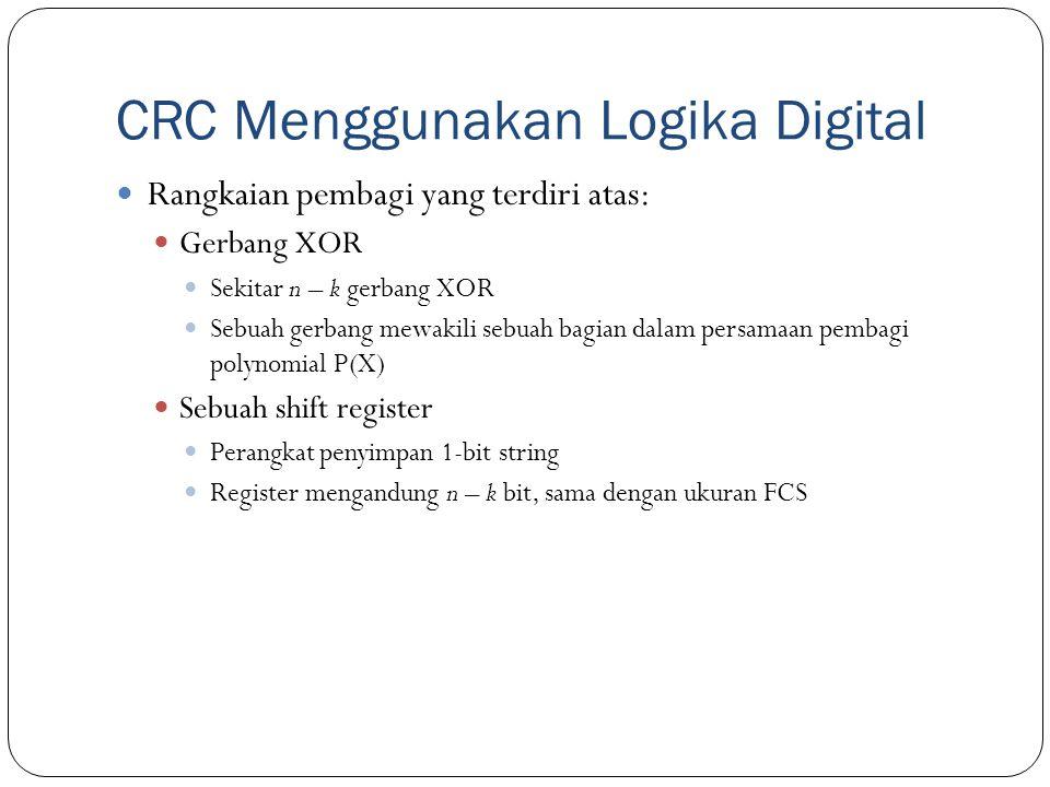 CRC Menggunakan Logika Digital