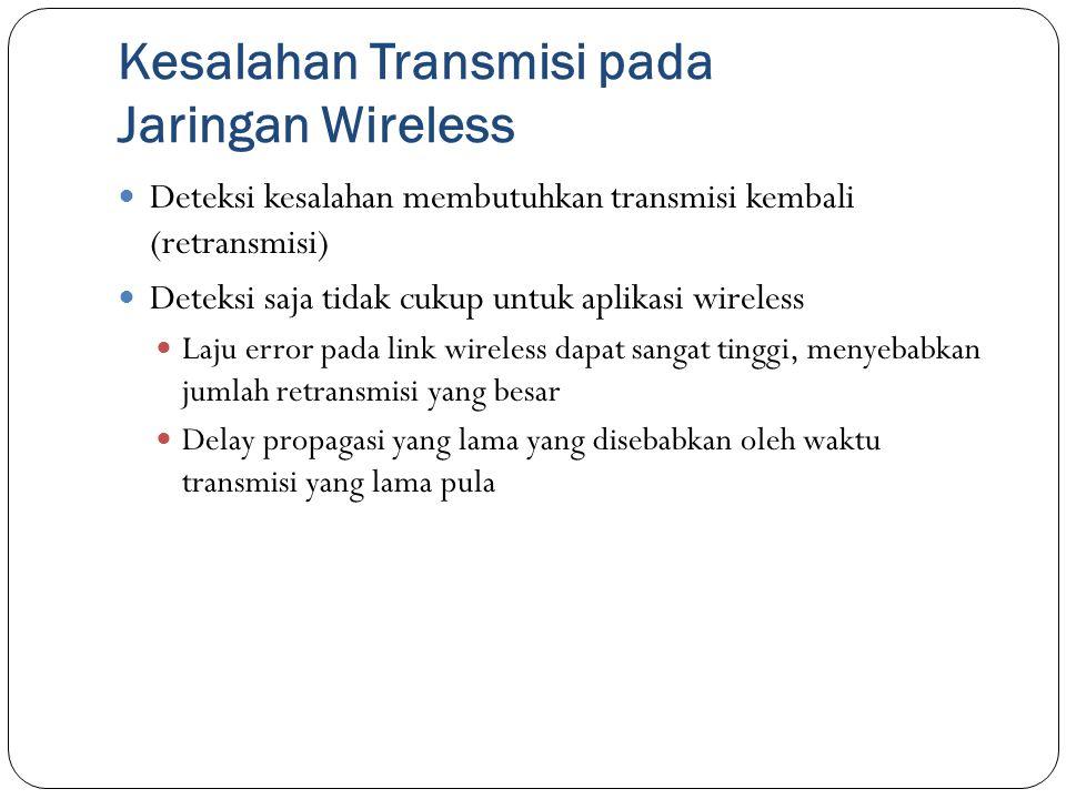 Kesalahan Transmisi pada Jaringan Wireless