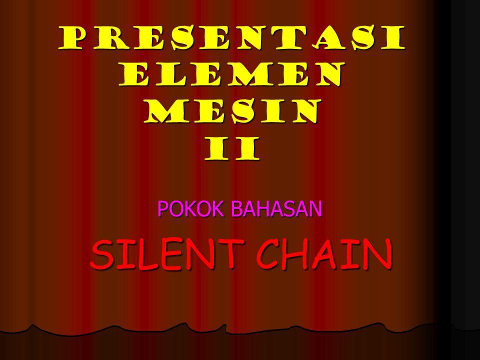 PRESENTASI ELEMEN MESIN II
