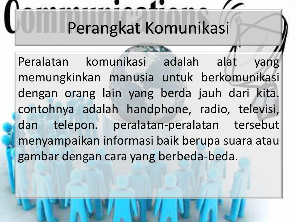 Perangkat Komunikasi