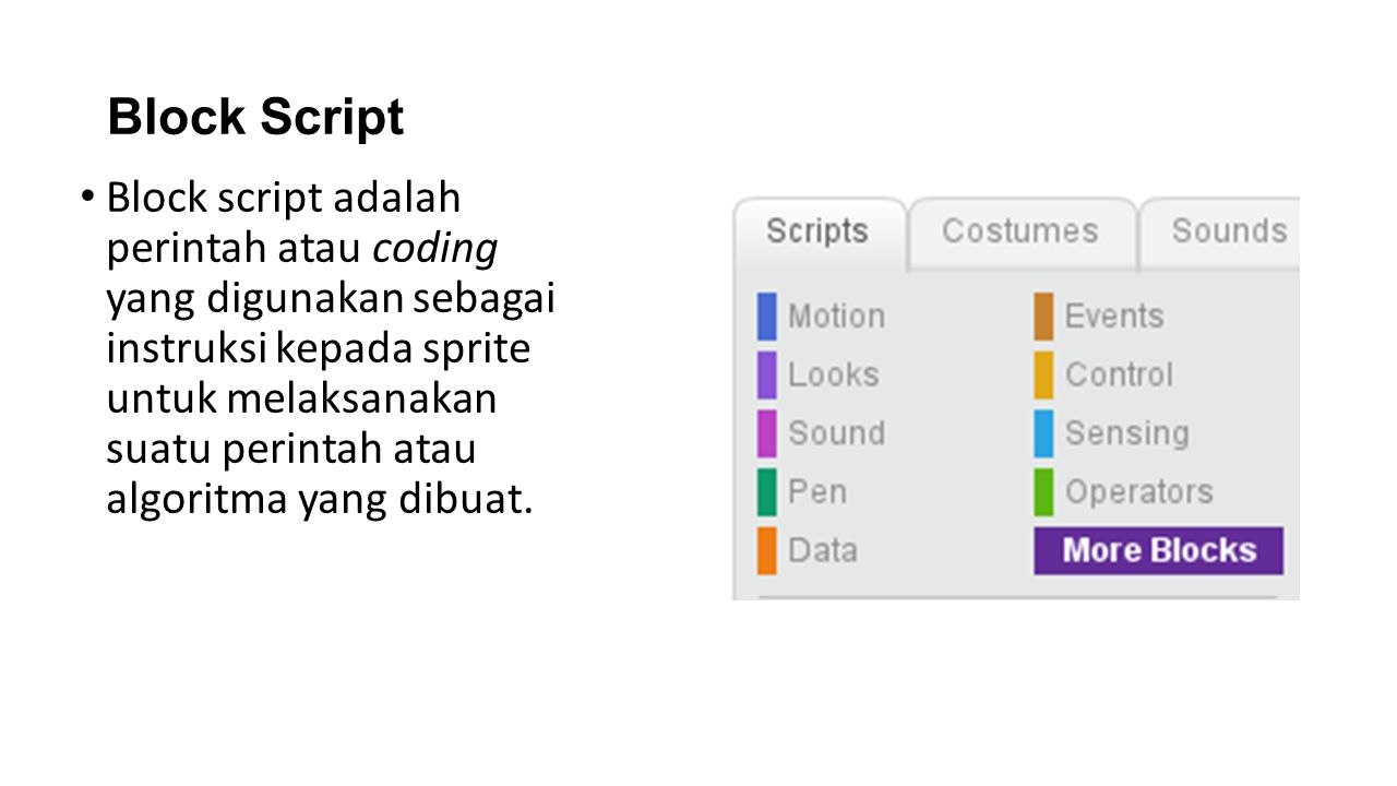 Block Script