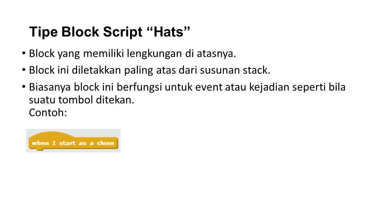 Tipe Block Script Hats