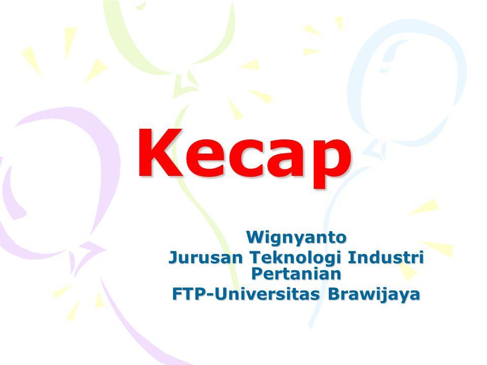 Jurusan Teknologi Industri Pertanian FTP-Universitas Brawijaya