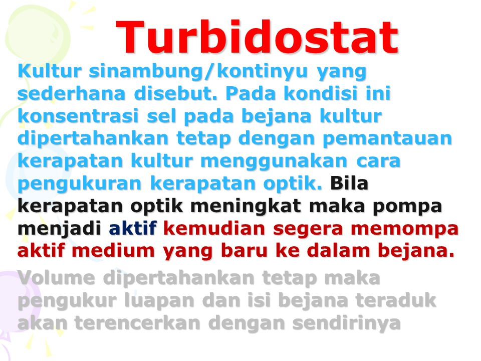 Turbidostat