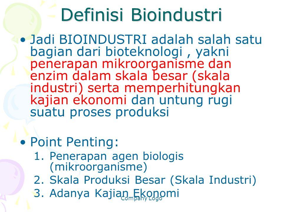 Definisi Bioindustri