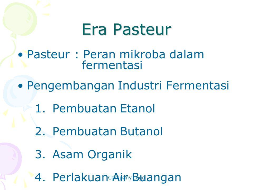 Era Pasteur Pasteur : Peran mikroba dalam fermentasi