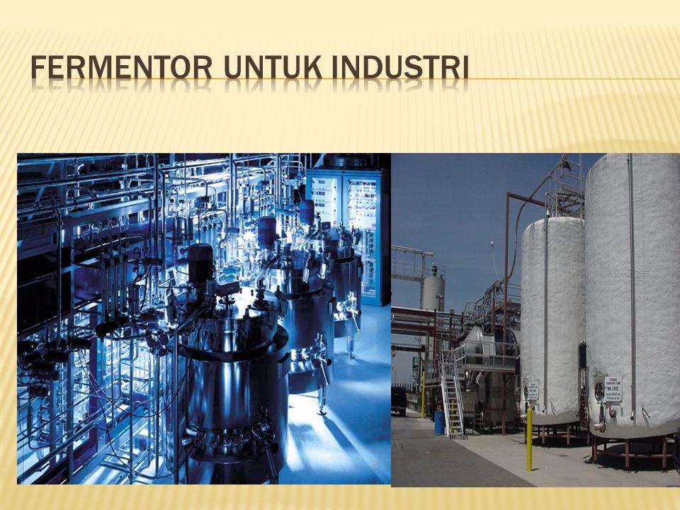 Fermentor untuk industri