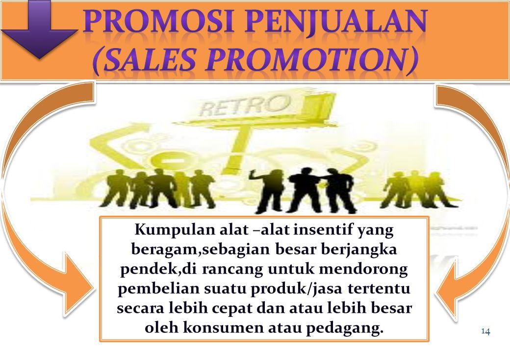 Tujuan Promosi Penjualan Pertumbuhan Pesat Promosi Penjualan