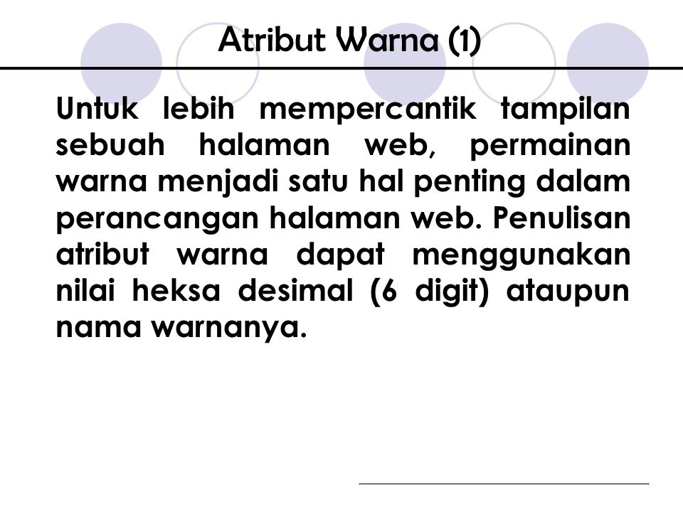 Atribut Warna (1)
