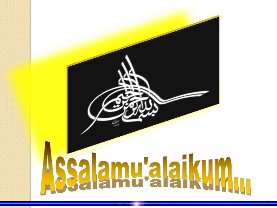 Assalamu alaikum...
