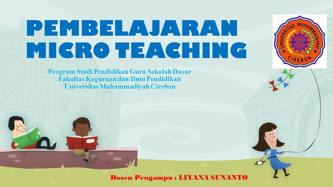 PEMBELAJARAN MICRO TEACHING