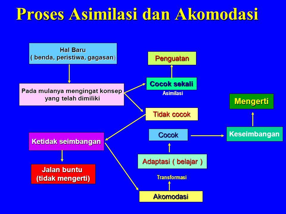 Proses Asimilasi dan Akomodasi