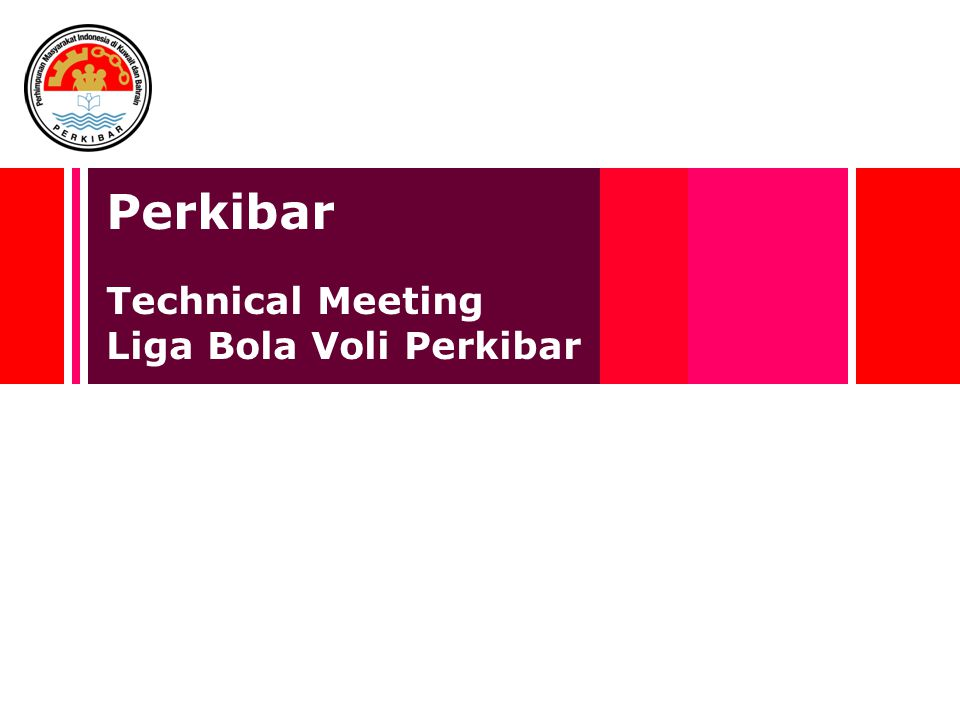 Perkibar Technical Meeting Liga Bola Voli Perkibar